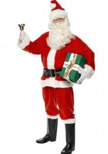 Billig julemandskostume